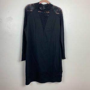 Rachel Roy | Black Fitted Dress | Size 2X